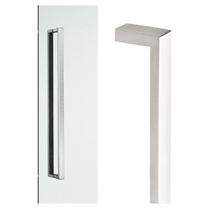 Picture of Madinoz MZB2512 Stainless Steel D-Pull Entry Door Handle BTB