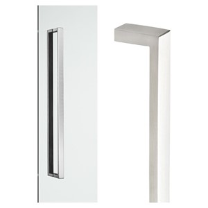 Picture of Madinoz MDZC2512 Stainless D-Pulls 450mm Concealed SSS