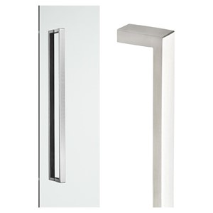 Picture of Madinoz MDZC2512 Stainless D-Pulls 600mm Concealed SSS