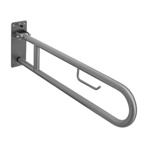 Picture of RBA 4007-123 Drop Down Grab Rail with Toilet Roll Holder