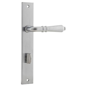 Picture of Tradco 12200P85 Sarlat Lever on Rectangular Backplate Privacy - SC