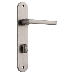 Picture of Tradco 13726P85 Baltimore Lever on Oval Backplate Privacy - RN