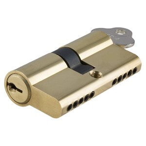 Picture of Tradco 2045 Euro Cyl Key/Key 5 Pin 60mm PB