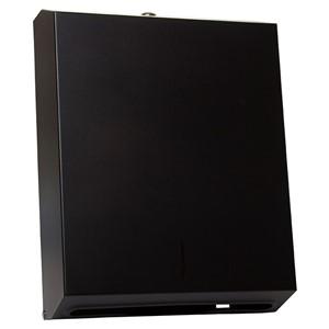 Picture of Metlam Designer Multi-Fold Paper Towel Dispenser - Black