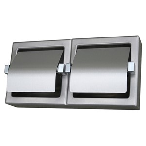 Picture of Metlam Double Toilet Roll Holder - SSS