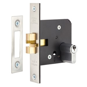 Picture of Gainsborough 760 Sliding Door Mortice Lock Double Cylinder
