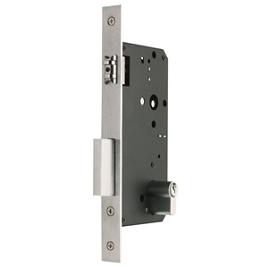 Picture of Gainsborough 775-60 Roller Bolt Mortice Lock Double Cylinder 60mm Backset