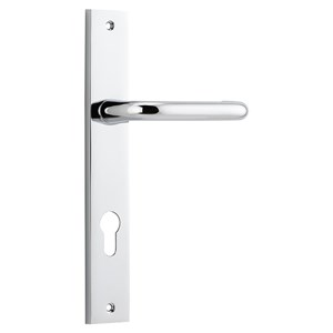 Picture of Tradco 11844E85 Oslo Lever on Rectangular Backplate - CP
