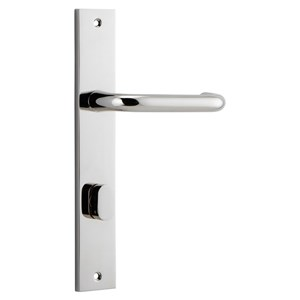Picture of Tradco 14344P85 Oslo Lever on Rectangular Backplate - PN