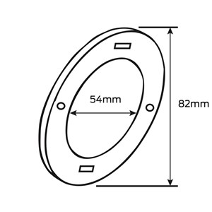 Picture of Legge G2 Packing Ring 2 Pack - Satin Stainless Steel